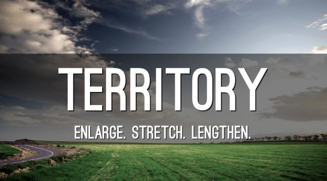 Enlarge Your Territory