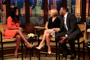 Kelly Ripa Michael Strahan Gabrielle Union